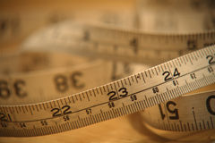 Tape Measure. Used for talloring Stock Image