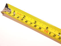 Tape measure. Metal tape measure Royalty Free Stock Image