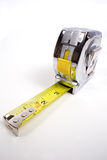 Tape measure. A common construction or home tape measure stock photos