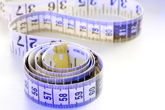 Tape Measure. Background possible to use for printing and project Stock Photography