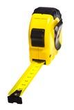 Tape-Measure amarelo imagens de stock royalty free