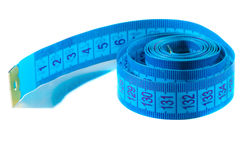 Tape measure close - up Royalty Free Stock Photo