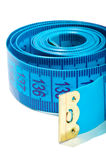 Tape measure close - up Royalty Free Stock Photography