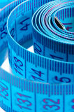 Tape measure close - up Stock Photo
