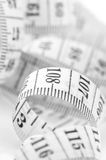 Tape measure close-up Stock Photos