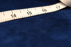 Tape Measure and Cloth Royalty Free Stock Image