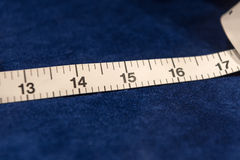 Tape Measure and Cloth Stock Image