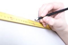 Tape measure Royalty Free Stock Photography