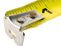 Tape measure cu2 Royalty Free Stock Image