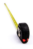 Tape Measure first person perspective Stock Photo