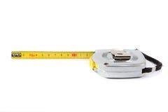Tape-measure giallo. Fotografia Stock