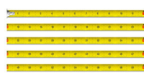 Free Tape Measure In Inches Royalty Free Stock Photos - 85677428
