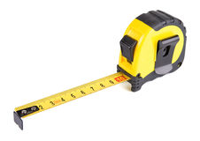 Tape Measure Isolated On White Royalty Free Stock Images