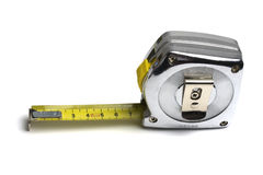 Tape measure isolated on white Royalty Free Stock Photography