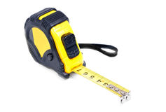 Tape measure isolated on white Royalty Free Stock Photos