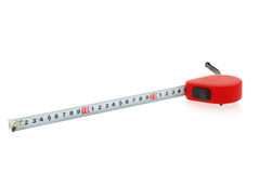 Tape measure isolated from white Stock Images