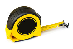 Tape measure on isolated Royalty Free Stock Photography