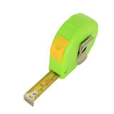 Tape measure isolated on white Stock Photography
