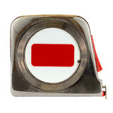 Tape Measure. Isolated on a white background Stock Photo