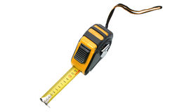 Tape measure isolated. On white background Stock Photos