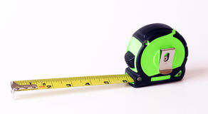 Tape measure on a white background. Tape measure isolated on a white background Stock Photos