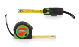 Tape measure isolated on white background. Stock Photos