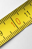 Tape measure macro Royalty Free Stock Images