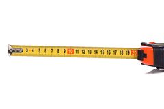 Tape Measure On White Royalty Free Stock Images