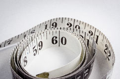 Tape Measure. A photo of a tape measure Royalty Free Stock Photography