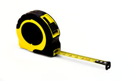Tape measure in plastic case Royalty Free Stock Photos