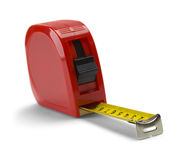 Tape Measure Red Royalty Free Stock Photography