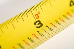 Tape Measure Three Stock Images