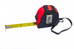 Tape measure. Tool for carpenter Royalty Free Stock Photos