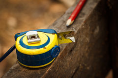 Tape measure tool Stock Photos