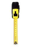 Tape measure top view Stock Photos