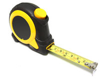 Tape measure  on white Stock Photography