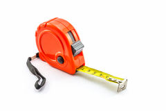 Tape Measure on white background. Royalty Free Stock Photography