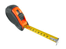 Tape measure on white Royalty Free Stock Photography