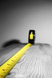 Tape measure wood B Stock Images