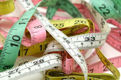 Tape Measures royalty free stock photo