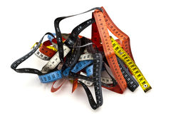 Tape measures Royalty Free Stock Photos