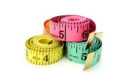 Tape measures Stock Photography
