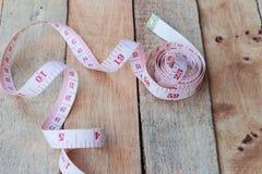 Tape measuring Stock Photo