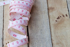Tape measuring Stock Image