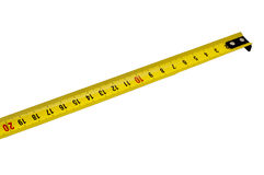 Tape Mesure. Using by measuring on centimeter format Stock Photography