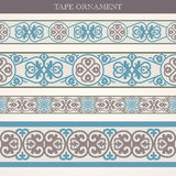 Tape ornament Stock Images
