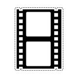 Tape record isolated icon Royalty Free Stock Photography