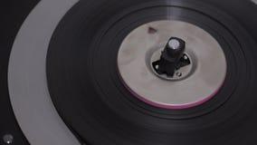 Tape record reel retro. Vintage stock video