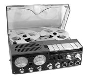 Tape recorder royalty free stock photography