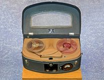 Tape recorder Stock Image